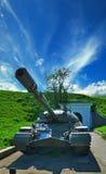 Producción pesada del tanque de la URSS foto de archivo