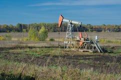 Producción petrolífera foto de archivo libre de regalías