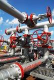 Producción petrolífera de la compañía petrolera de Tatneft Fotos de archivo