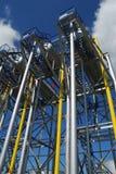 Producción petrolífera rusa Imagen de archivo