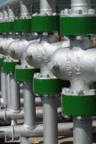 Producción petrolífera rusa. Fotos de archivo libres de regalías