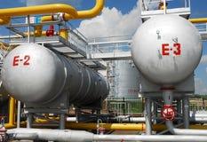 Producción petrolífera rusa. Foto de archivo libre de regalías