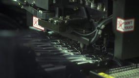 Producción robótica de placa de circuito impresa metrajes