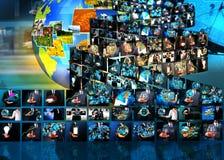 Producción de la televisión y de Internet Fotografía de archivo libre de regalías