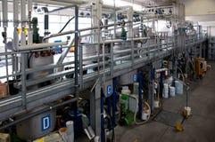 Producción de petróleo industrial Imagen de archivo