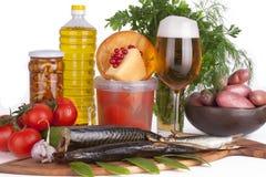 Produce Background Stock Images