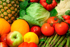 Produce Close-Up Royalty Free Stock Photos