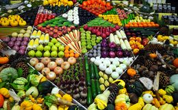 Produce display Royalty Free Stock Image