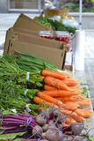 Produce at Farmers Market Royalty Free Stock Image