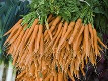 Produce - organisk morotbakgrund arkivbild