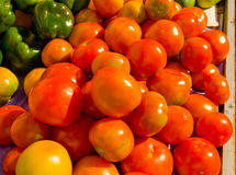 Produce at an outdoor market in the tropics Stock Photo