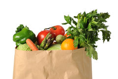 Produce in Paper Bag Royalty Free Stock Photo