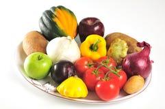 Produce platter Stock Photography