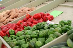 Produce for sale Royalty Free Stock Image