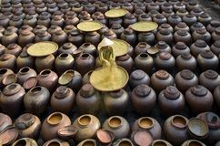Free Produce Soy Sauce In Tradition Village At Hungyen Province, Vietnam, This Is A Handicraft Part 28 Royalty Free Stock Photo - 159530775