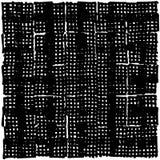 Produceerde het hand getrokken korte tellerslijnen gebaseerde die patroon, rechtstreeks wordt samengesteld uit, manueel strepen Stock Foto
