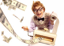 producenta pieniądze Fotografia Stock