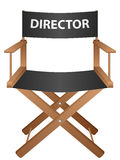 Producer chair Royalty Free Stock Photography