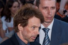 Producer Jerry Bruckheimer in Moscow Stock Photos