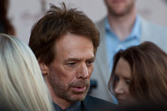 Producer Jerry Bruckheimer in Moscow Royalty Free Stock Photography