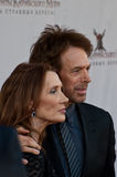 Producer Jerry Bruckheimer and wife Linda Stock Image