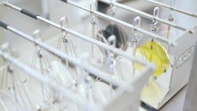 Producerad lins för exponeringsglasnärbild arkivfilmer