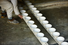 Produces porcelain,Jingdezhen China Royalty Free Stock Photography