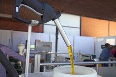 Producing of biodiesel Royalty Free Stock Photos