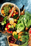 Product. Fresh Vegetables, Fruits and other foodstuffs. Huge collection Royalty Free Stock Photos