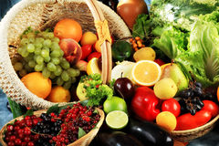 Product. Fresh Vegetables, Fruits and other foodstuffs. Huge collection Stock Photography