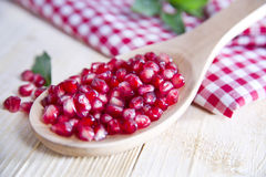 Product Of The Autumn Season Pomegranate Royalty Free Stock Images