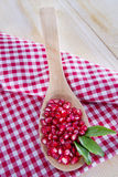 Product Of The Autumn Season Pomegranate Stock Photography