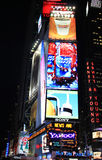 Product Boards at Time Square Stock Images