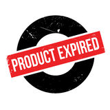 Product Expired rubber stamp Stock Image