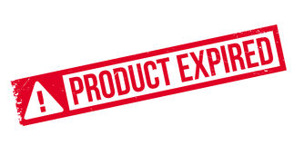 Product Expired rubber stamp Royalty Free Stock Image