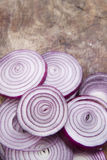 Fresh red onions Royalty Free Stock Photos
