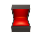 Product gift jewelry box. Royalty Free Stock Photos