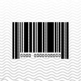 Product identification code design Royalty Free Stock Images