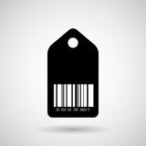 Product identification code design Stock Images