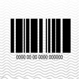 Product identification code design Stock Photo