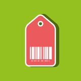 Product identification code design Stock Photography