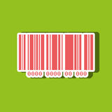 Product identification code design Stock Photos