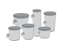 Product industry packaging container Royalty Free Stock Images