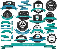 Product labels royalty free illustration