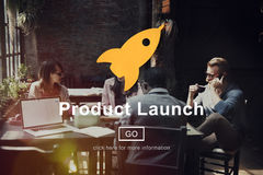 Product Launch Start up Strategy Planning Business Concept stock images