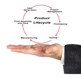 Product Life Cycle Royalty Free Stock Image