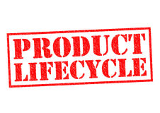 PRODUCT LIFECYCLE Royalty Free Stock Images