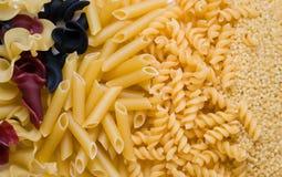 Product macaroni. Various macaroni of a product Stock Image