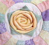 Product met de hand gemaakt van stoffen met decoratief 'R Royalty-vrije Stock Foto