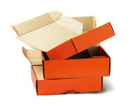 Product Package Boxes Royalty Free Stock Image